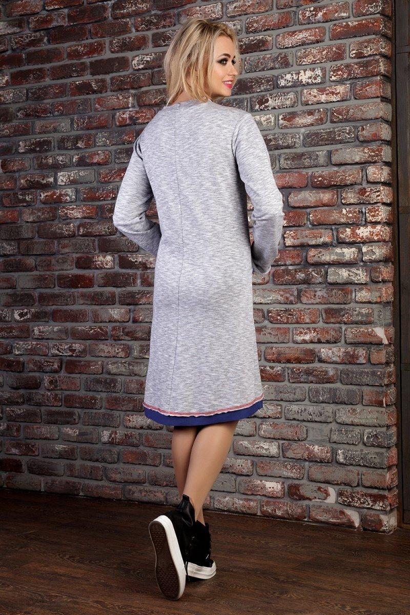 a694a726c81 Платье в стиле спорт-шик с принтом