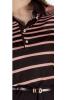 Платье в нежно-розовую полосу - фото 1