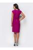 Стильное платье-футляр цвета фуксия - фото 1