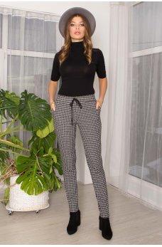 Серые стильные комфортные женские брюки