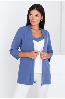 Темно-голубой универсальный женский комплект