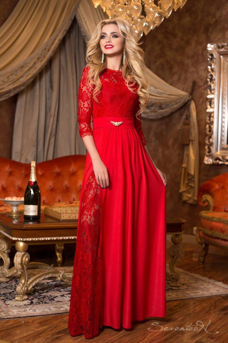 купить красное платье уфа