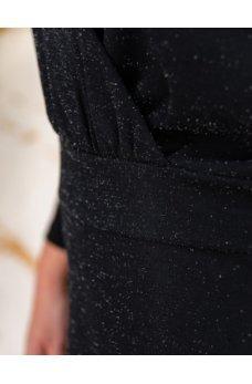 Элегантное минималистичное платье черного цвета