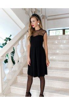 Новогоднее платье черного цвета