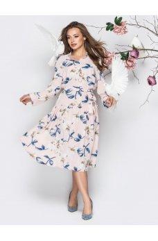 Весеннее платье из софта
