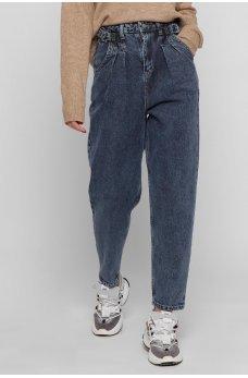 Синие гламурные джинсы-слоучи