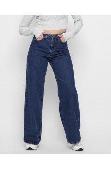 Синие современные джинсовые брюки кюлоты