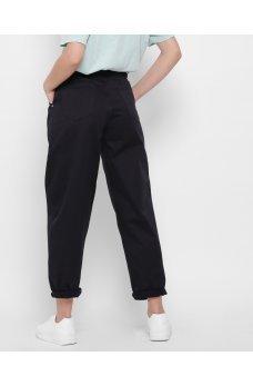 Черные изящные повседневные джинсовые брюки