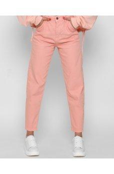 Персиковый молодежные джинсы мом