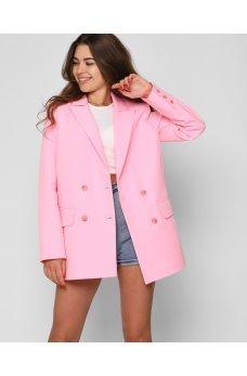 Розовый великолепный утонченный пиджак