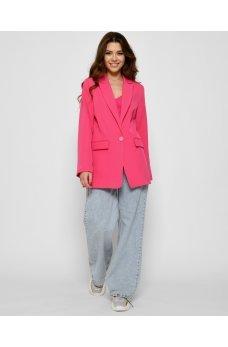 Розовый роскошный яркий пиджак