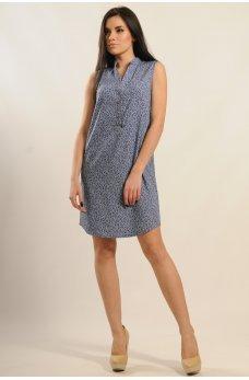 Платье рубашка из коттоновой ткани