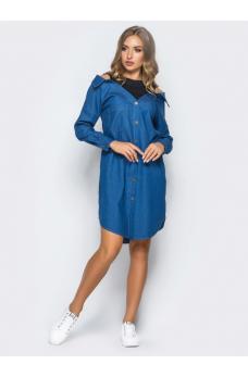 Джинсові плаття - купити джинсове плаття недорого  безкоштовна ... aacd1a98cb6ae