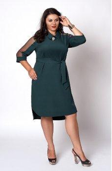 Елегантне зелений плаття