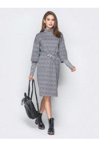 Платья в клеточку не только для школьной формы :)