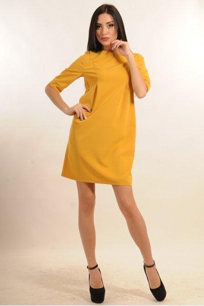 Изысканное желтое платье