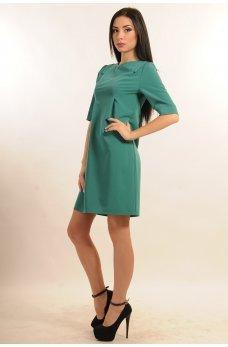 Изысканное платье морской бриз