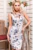 Элегантное платье футляр облегающего силуэта без рукавов