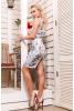 Элегантное платье футляр облегающего силуэта без рукавов - фото 1