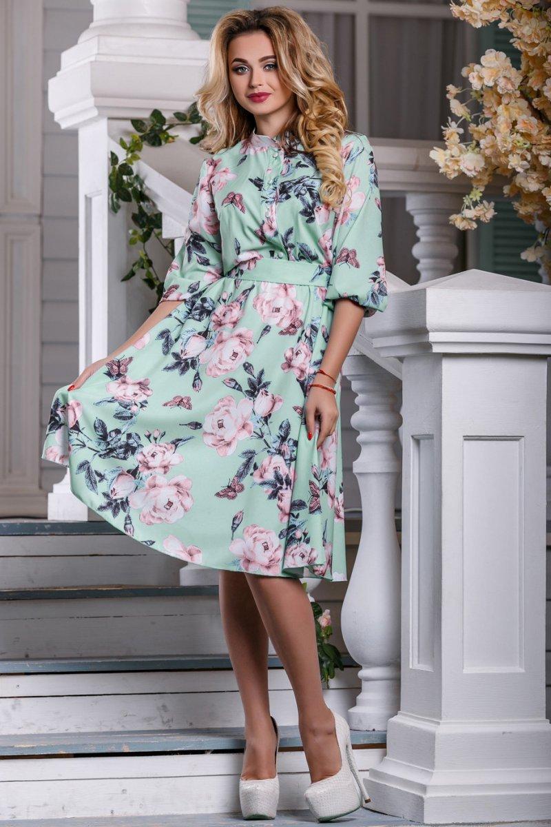 1d58882d9a0df5 Легке романтичне плаття в квітковий принт