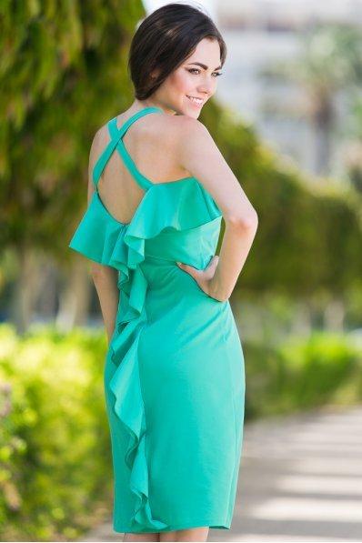 Платье мятное летнее