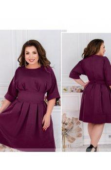 Женственное платье цвета фуксия