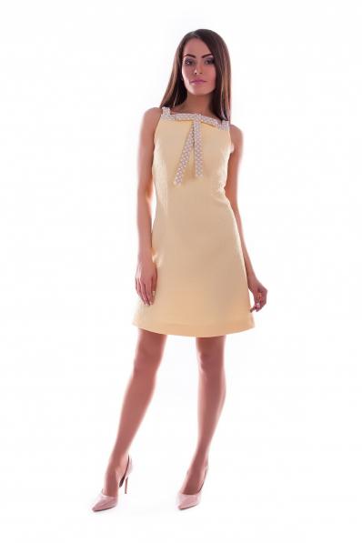Нарядное платье жаккард