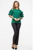 Нежная зеленая блузка - фото 1