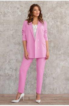 Розовый привлекательный комфортный пиджак