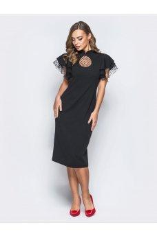 Вечірнє плаття  чорного  кольору