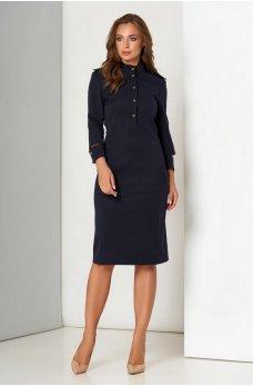 Трендове приталене плаття з костюмної тканини