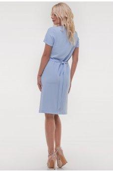 Легкое платье голубого оттенка