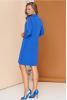 Легкое весеннее платье цвета электрик - фото 1