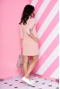 Легкое весеннее платье пудрового цвета - фото 1