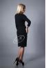 Черное платье жар-птица - фото 1