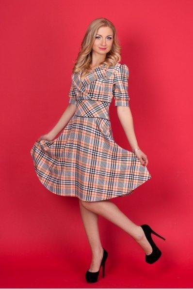 Платье клеш с принтом Burberry