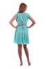 Мятное платье шифон - фото 1