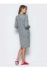 Повседневное платье с удлиненной спинкой и разрезами по бокам - фото 2