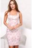 Романтическое платье на широких брителях