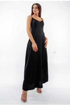 Черный элегантный сарафан