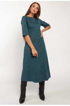 Утонченное платье миди цвета бриз