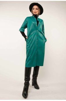 Гламурный женский костюм цвета бриз