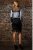 Серая блузка из шелка - фото 2