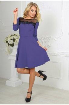 Бузкова кокетлива сукня