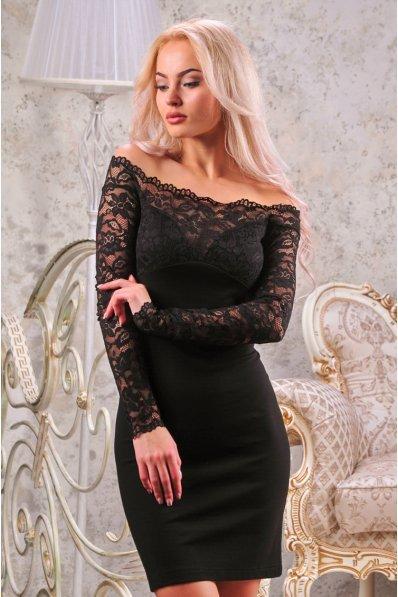 Соблазнительное платье с гипюром