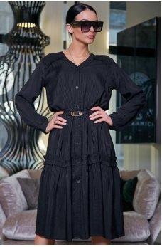 Гламурное платье черного цвета
