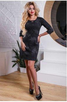 Удивительное черное платье