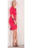Элегантное платье алого цвета - фото 1