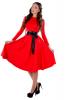 Яркое платье миди - фото 3