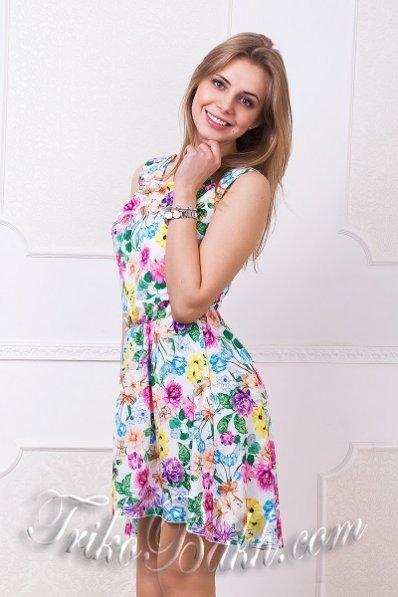 Платье с асимметричным низом белое